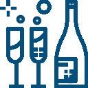 Icône application dans les vins et spiritueux