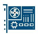 Icône Application dans l'électronique