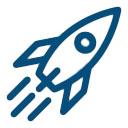Icône Application dans le spatial